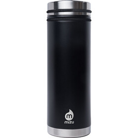 MIZU V7 Borraccia isolante con tappo 700ml inossidabile, enduro black